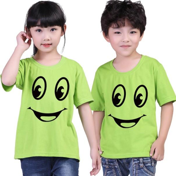 昆明儿童T恤六一节T恤衫幼儿园小学T恤背心印字图批发定制