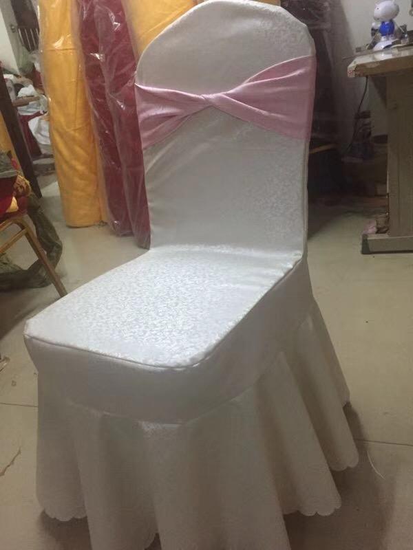 新品上市免洗椅套酒店免熨�C桌布椅套出口外�Q椅套