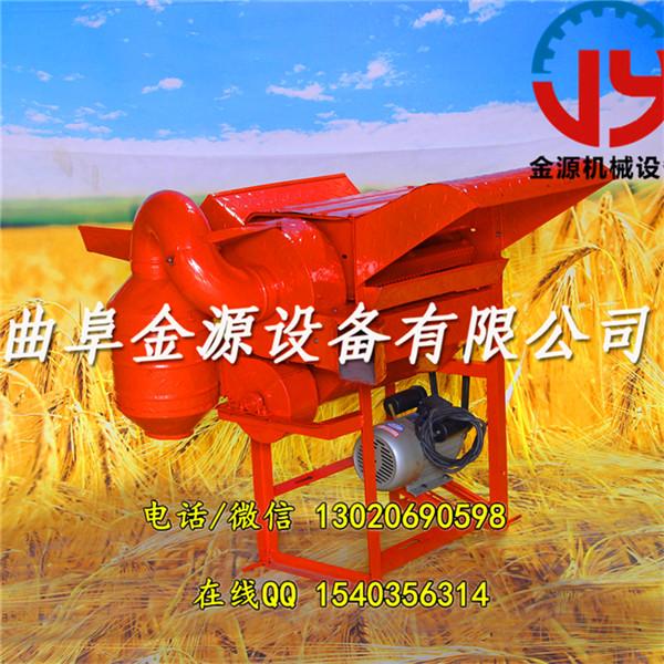 锦州各种型号谷子脱粒机高梁脱粒机金源大豆脱粒机