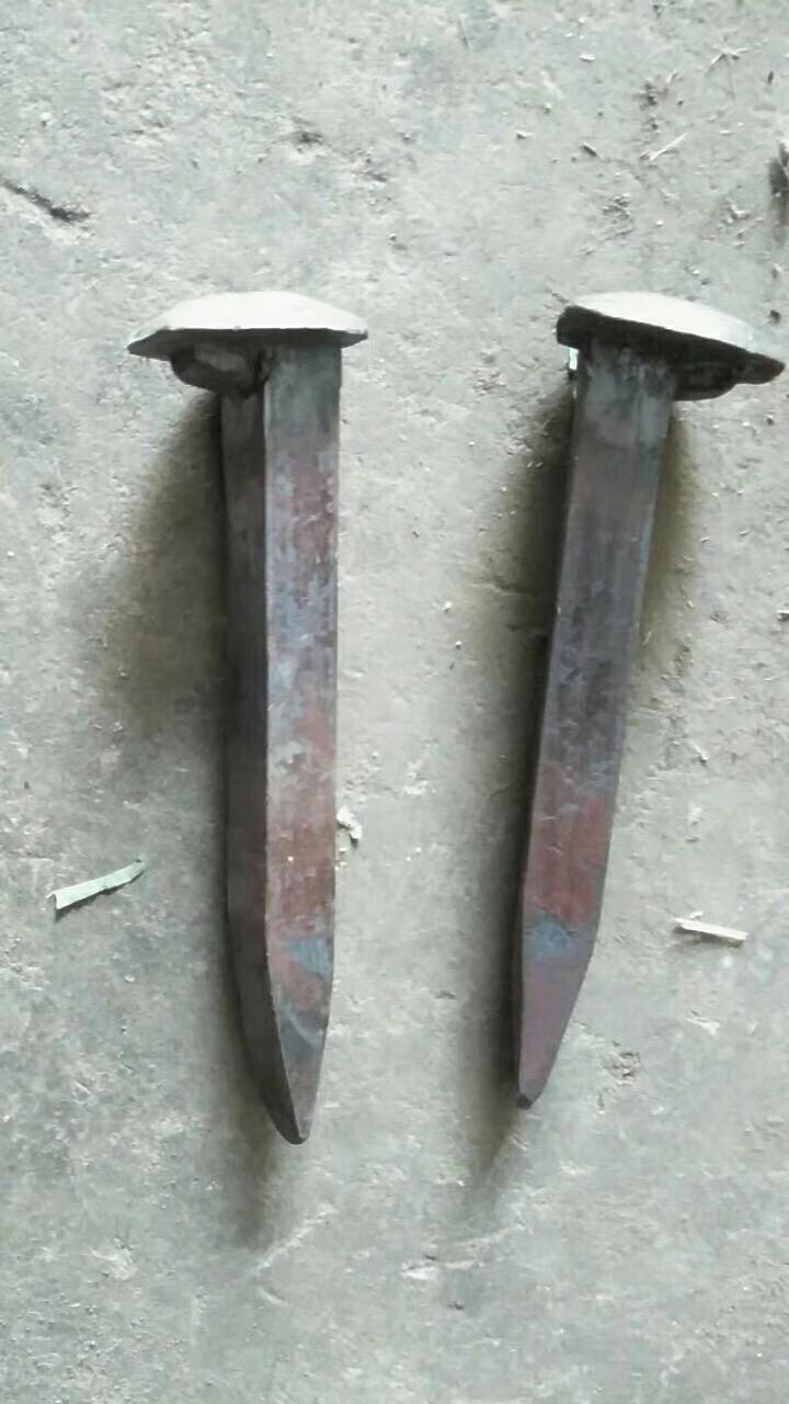 矿用铁路道钉   机打道钉    10*100道钉    道钉厂家