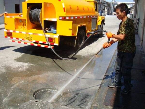 无锡惠山区洛社镇小区排污管道清洗淤泥清理