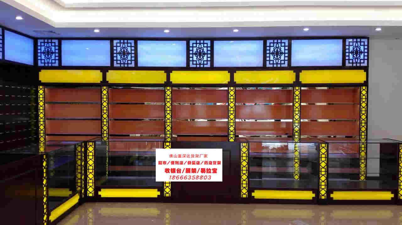 广东超市货架富深达厂家分析超市货架内商品的摆放技巧