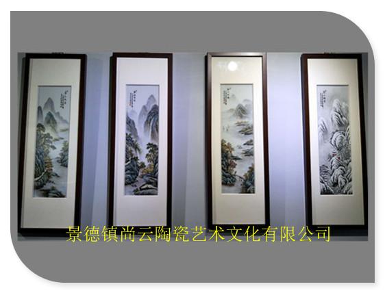 瓷板画,陶瓷壁画,陶瓷屏风定制批发