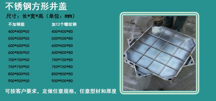 郑州洛阳焦作商丘信阳不锈钢井盖生产制造厂家在哪里