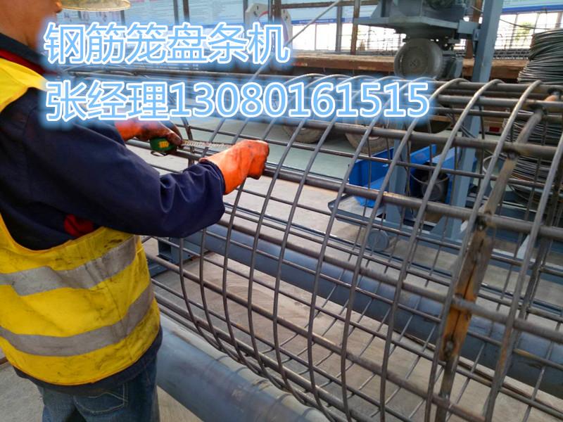 钢筋笼成型机云南省玉溪销售电话