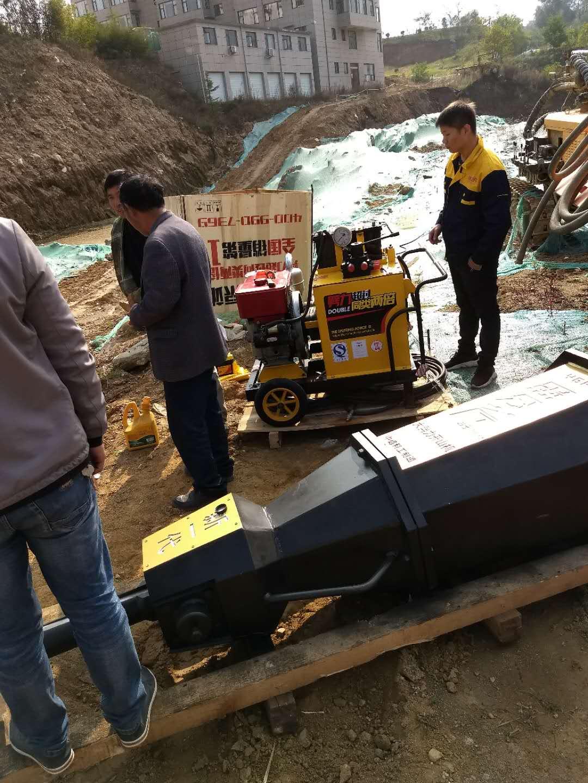 二次分裂六盘水安顺大坝开挖劈裂机