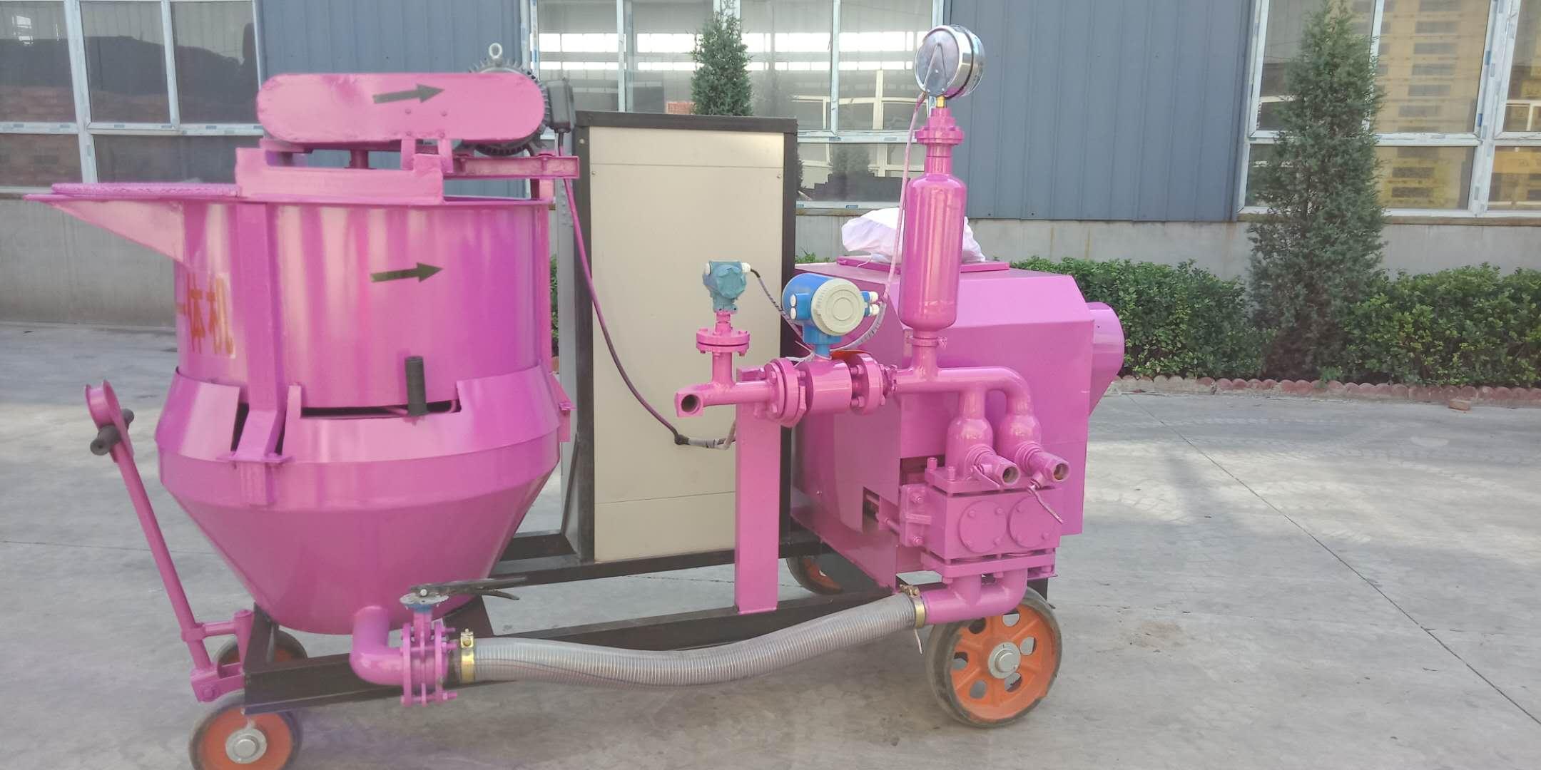 云南迪庆活塞式注浆泵.作业流程