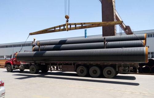贵港市法兰连接涂塑钢管实力生产