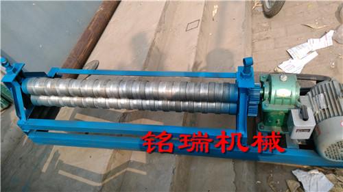 遵义市余庆县白铁皮压筋机滚圆机可调式压筋机规格