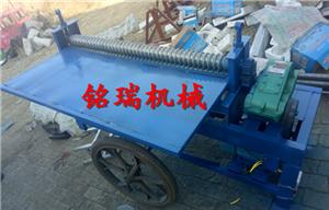 重庆市沙坪坝区白铁皮压筋机滚圆机可调式压筋机规格