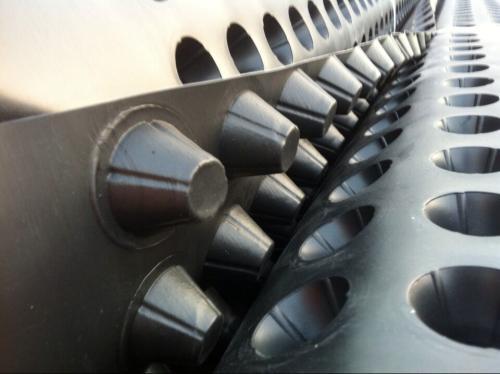 塑料排水板车库顶板隔水板塑料防护板
