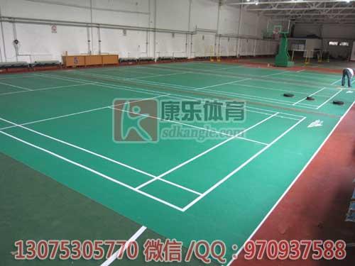 青岛塑胶地板,羽毛球塑胶地板,乒乓球地胶