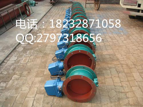 安徽DN400/DN500/DN600/DN800气动通风蝶阀,除尘管道风门价格