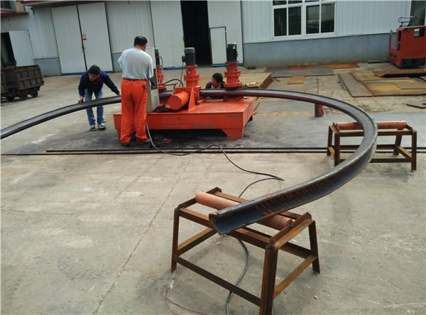 工字钢弯形机成型机江苏无锡矿用巷道支护U型钢折弯机