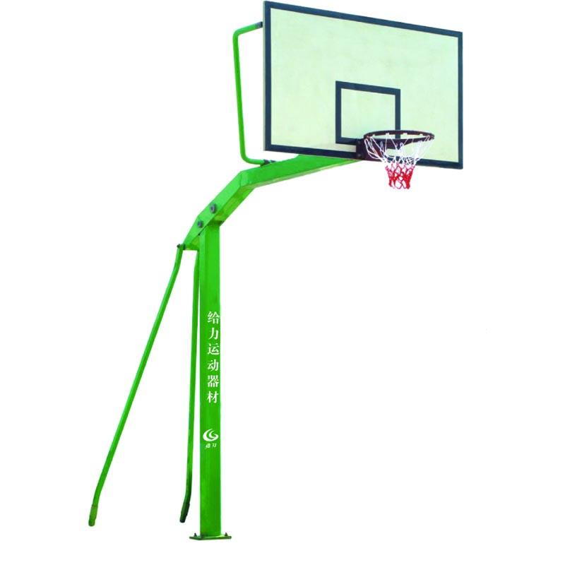 柳州篮球架安装钢化玻璃篮板直销
