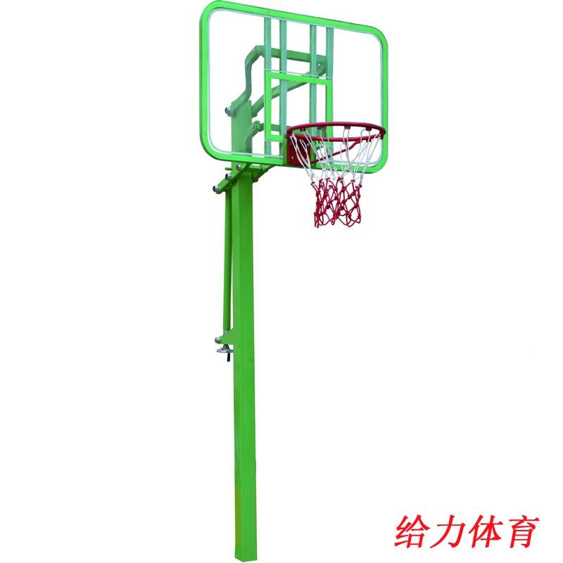 梅州固定篮球架价钱福建学校球柱安装