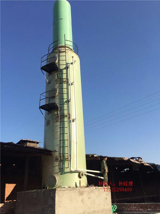 永州砖厂脱硫塔四平锅炉脱硫除尘