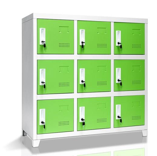 学生书包柜厂家直销  书包柜厂家直销学生书包柜 钢制 教室学生书包柜