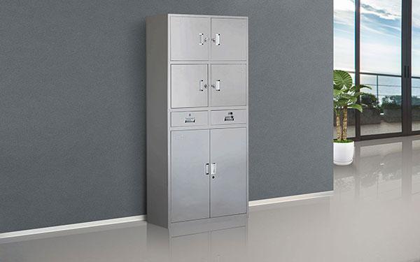 定制多门更衣柜小空间大容量带锁储物柜