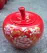 加工陶瓷罐青青青免费视频在线 订购陶瓷花罐蜂蜜罐 定制陶瓷食品罐苹果罐定做