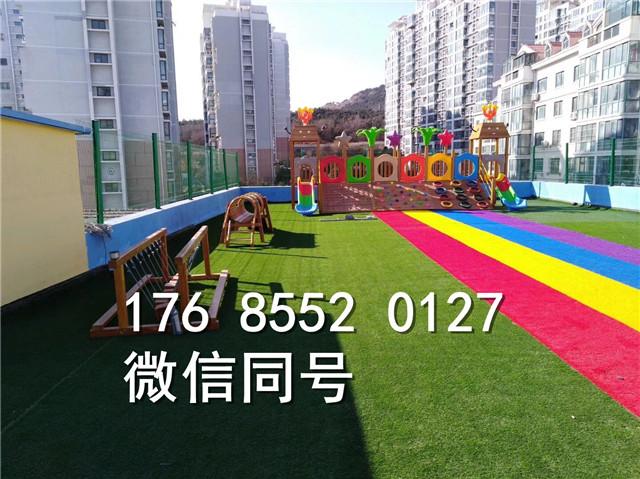 丽江华坪县景观休闲人造草坪垫沙吗
