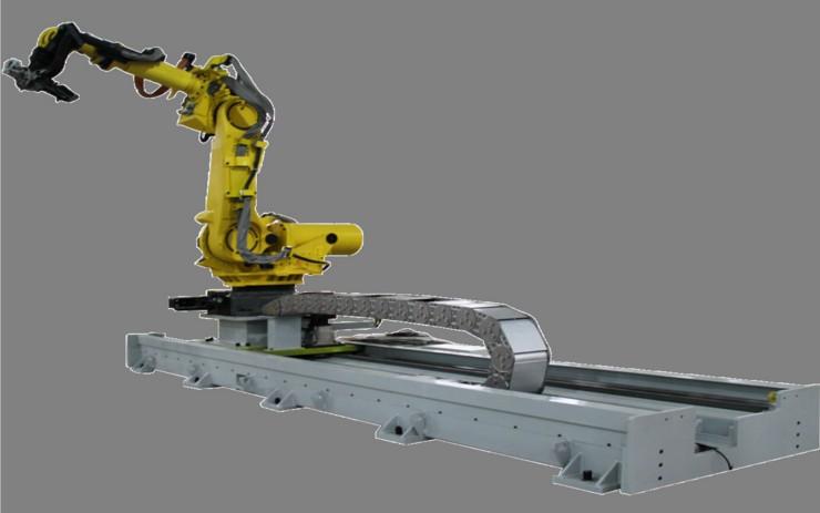 苏州通锦第七轴工业机器人行走地轨关节机器人行走轴