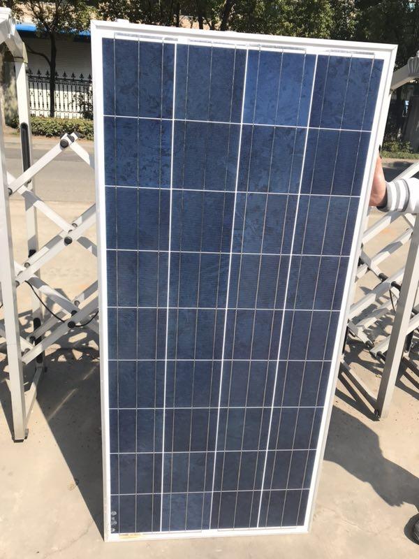 二手光伏组件太阳能电池板130W低价出售
