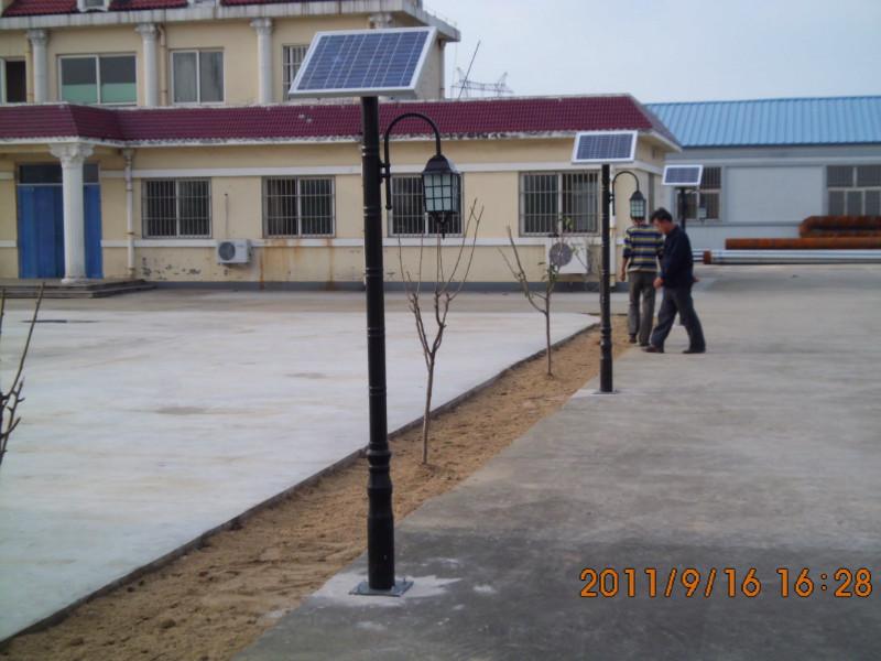 肇东太阳能路灯厂家定制包亮灯