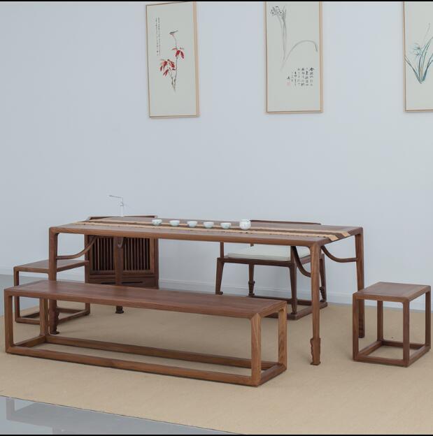 成都明清仿古家具定做 成都禅意新中式家具定制 中式禅意家具