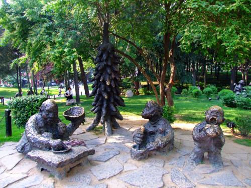 铜狮子雕塑青青青免费视频在线【海晟】