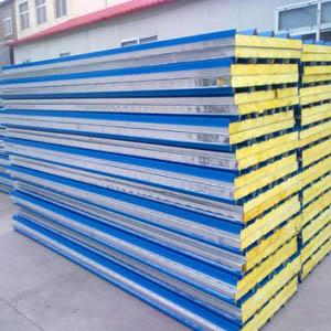 供甘肃定西彩钢夹心复合板和白银彩钢复合板批发
