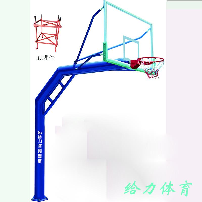广东省室外圆管篮球架manbetx登陆