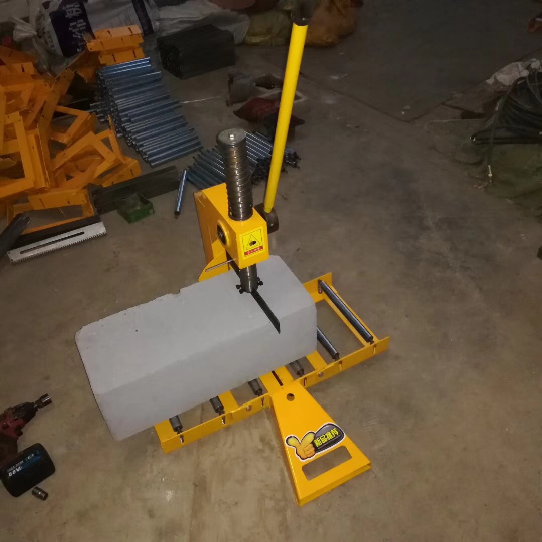 广东东莞加气块电动切砖机批发