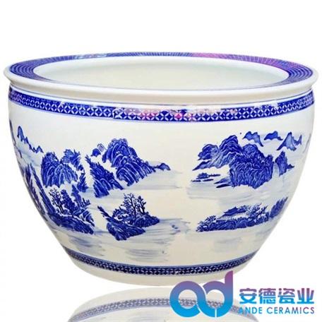 景德镇陶瓷缸生产manbetx登陆 陶瓷缸批发 陶瓷大缸定做