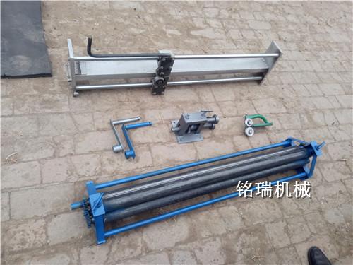 青海海南藏族自治州铁皮保温手动压边机可拆卸铝皮压边机今日行情