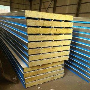 供甘肃陇南岩棉彩钢板和天水彩钢岩棉板价格