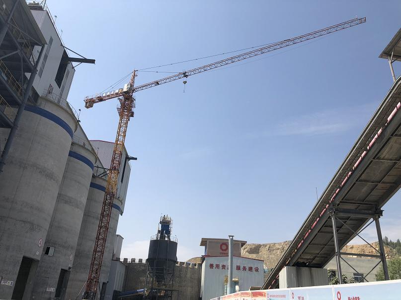 安�cQTZ6012建筑塔吊起重量6T出�S高度40米��使�截面1.8×2.8