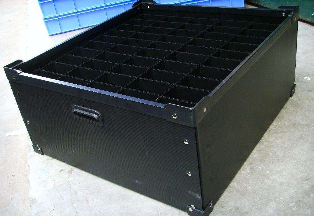 万州出售抗老化塑料物流箱 中空板万州中空板周转箱厂家高品质_用事实说话