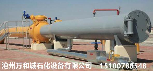 收发球筒安全阀接管根据工艺需求决定是否设置