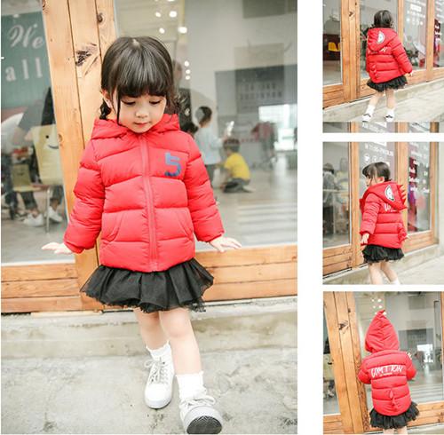 儿童棉服外套供应轻薄款儿童棉衣棉服货源