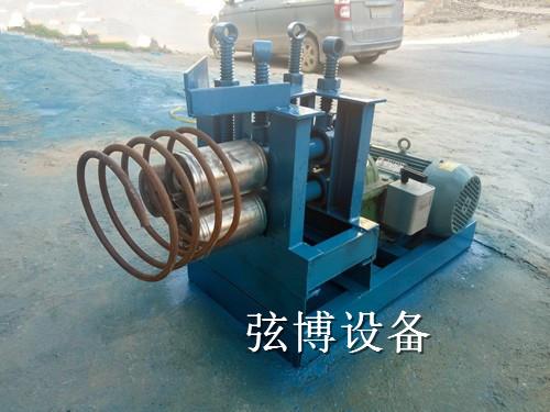 钢筋滚圆机弯曲机制造商黑龙江大庆市让胡路区不锈钢卷板机多少钱一台