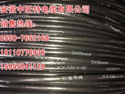 工厂现货ZR-KC-GS-FFRP2x1.5mm补偿导线生产地