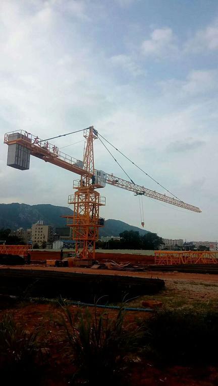绵阳QTZ80建筑塔吊型号规格QTZ6012汇友塔机标准节通用