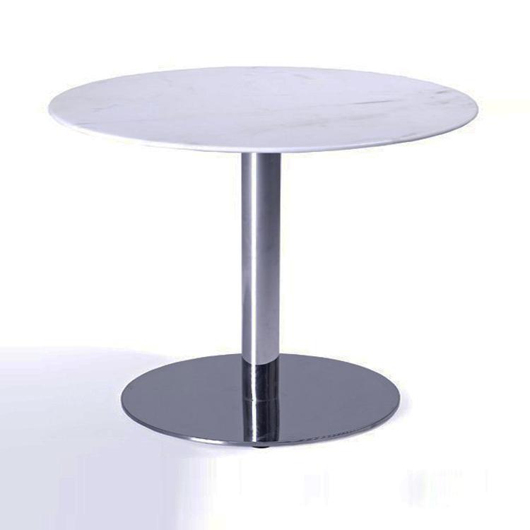 餐厅餐桌台子款式订做,大理石印花图案餐桌,大理石材工厂
