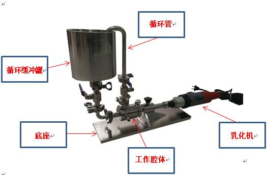 油墨混合高速均质机