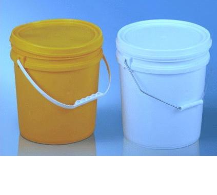 食品级包装桶环保PP化工塑料桶10L加厚乳胶桶涂料桶密封塑料圆桶