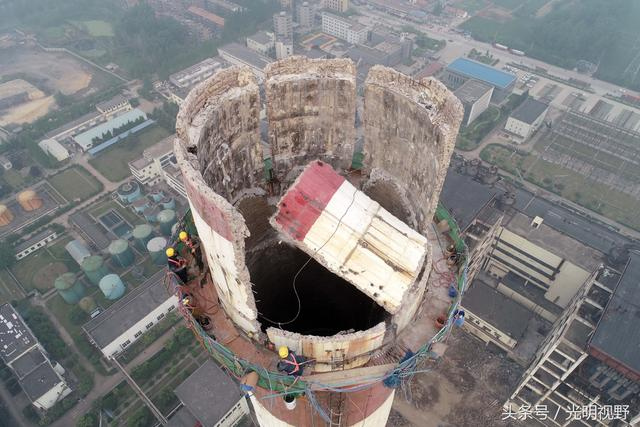 贵港钢铁厂烟囱拆除公司、烟囱拆除工程队顾客
