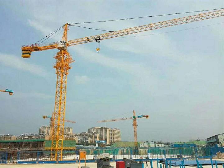 南�QTZ63建筑塔吊品牌�R友QTZ5610塔吊出�S�r格31�f使用年限15年