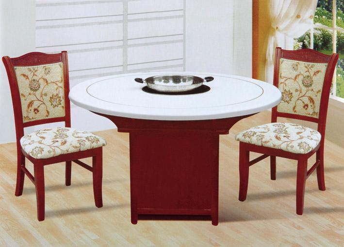 优质火锅桌厂家,电磁炉火锅桌定制,大理石木质火锅桌