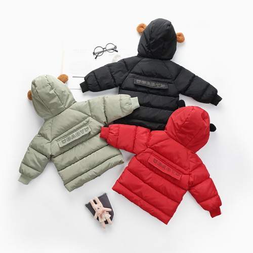 中长款儿童棉衣棉服批发、儿童棉服厂家货源进货便宜
